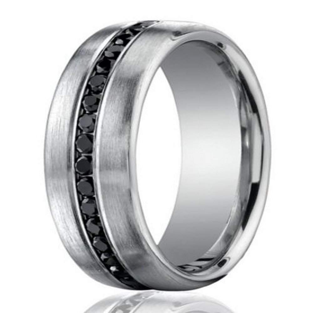 Quick View: Black Wedding Ring Platinum At Reisefeber.org