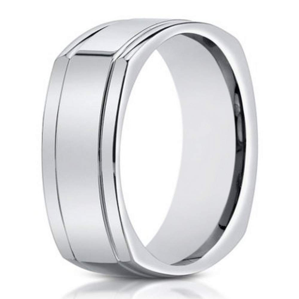 whgolda sleek s wedding band ring gold product brushed satin bands men white mens archer