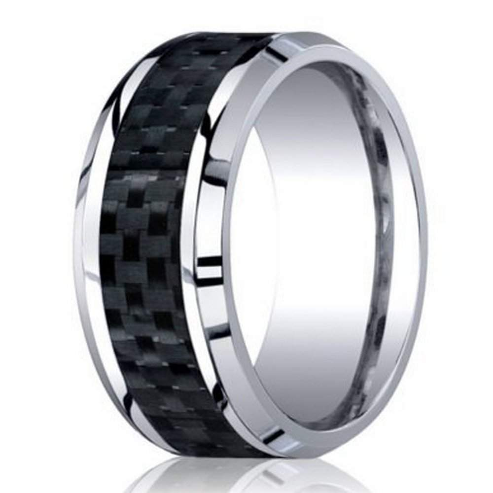 feature - Carbon Fiber Wedding Ring